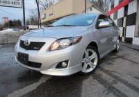 Carfax Cars for Sale by Owner New 2010 toyota Corolla Xrs Rare Model 1 Owner Carfax Certified