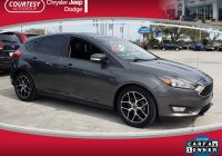 Carfax Used Cars Tampa New Used 2017 ford Focus Sel for Sale