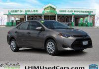 Carfax Used Cars toyota Awesome Pre Owned 2018 toyota Corolla Le 4dr Car In Sandy M8354