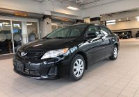 Carfax Used Cars toyota New Pre Owned 2013 toyota Corolla Super Low Kilometers Clean Carfax In