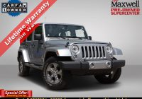 Carfax Used Jeeps Luxury Dealer Certified 2018 Jeep Wrangler Jk Unlimited Saha