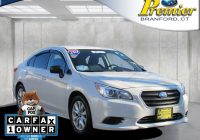 Carfax Vehicles Elegant Used Subarus In Ct