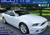 Cars for Sale by Carfax Luxury 2014 ford Mustang V6 Premium Convertible Clean Carfax Florida