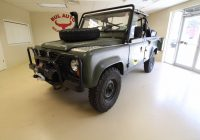Cars for Sale by Military Awesome 1986 Land Rover Defender 110 Military Stock for Sale Near