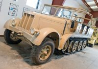 Cars for Sale by Military Luxury German 8 ton Half Track tops $1 Million at Military Vehicl