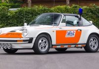 Cars for Sale by Police New 1989 Porsche 911 Targa Dutch Police Car Up for Auction