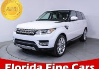 Cars Sale Florida New Used 2014 Land Rover Range Rover Sport Supercharged Suv for Sale In