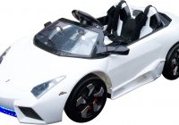 Childrens Electric Cars Awesome 12v Two Seat Lambo Gini Mega Features Ride On Car £279 95 Kids