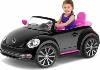 Childrens Motorized Cars Beautiful Kid Trax Vw Beetle Convertible 12 Volt Battery Powered Ride On