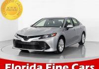 Compare Used Cars Fresh Used 2018 toyota Camry Le Sedan for Sale In Hollywood Fl