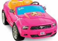 Drivable toy Cars Fresh Power Wheels Barbie ford Mustang toys Games