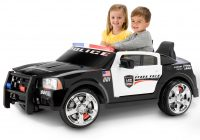 Drivable toy Cars Luxury Kid Trax Dodge Pursuit Police Car 12 Volt Battery Powered Ride On