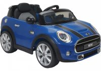 Electric Ride On Cars New Licensed Mini Cooper S 12v Child S Ride On Car Blue