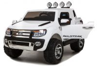 Electric Ride On Cars New White Ricco Licensed ford Ranger 4×4 Kids Electric Ride On Car with