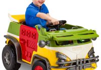 Electric Ride On toys for toddlers Lovely Kid Trax Teenage Mutant Ninja Turtles 6v Battery Powered Ride On