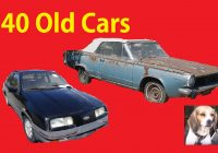 Find Cars for Sale New Classic Barn Find Car Lot Walkaround Old Cars Project for Sale 2
