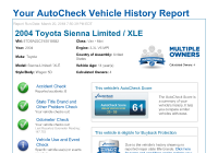 Free Vehicle History Report Elegant Autocheck Vehicle History Reports Vin Check Your Report