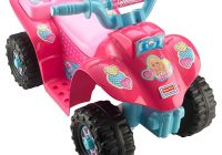 Girls Motorized Car Beautiful Power Wheels Barbie Lil Quad toys Games