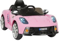Girls Motorized Car Elegant Kid Trax Vw Beetle Convertible 12 Volt Battery Powered Ride On