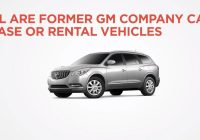 Gm Used Cars New Gm to Launch Online Used Car Sales Program