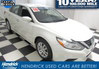 Hendrick Used Cars Unique Used 2016 Nissan Altima for Sale
