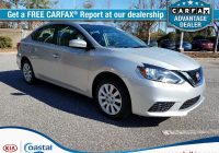 How to Get A Free Carfax On My Car Lovely Pre Owned 2017 Nissan Sentra Sv 4dr Car In Wilmington P