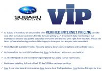 How to Get A Free Carfax Report without Paying Elegant V I P – Verified Internet Pricing Subaru Of Hamilton