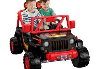 Jeep Ride On toy Lovely Power Wheels tough Talking Jeep Wrangler Walmart