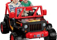 Jeep Ride On toy Luxury Power Wheels tough Talking Jeep Wrangler toys Games