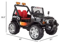 Jeep Ride On toy Luxury Shop Ride On toy All Terrain Vehicle 12v Battery Powered Sporty