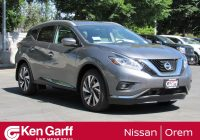 Ken Garff Used Cars Beautiful New 2018 Nissan Murano Platinum Sport Utility In orem 2n