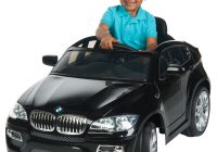 Kids Electric Cars Luxury Bmw X6 6 Volt Battery Powered Ride On toy Car by HuffyWalmart