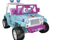 Kids Jeep Best Of Power Wheels 12v Jeep Wrangler Disney Frozen