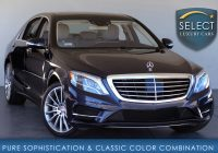 Mercedes Benz Used Cars Fresh Used 2016 Mercedes Benz S Class S 550