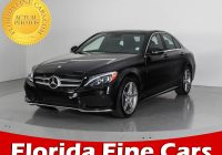 Mercedes Benz Used Cars Luxury Used 2016 Mercedes Benz C Class C300 4matic Sport Sedan for Sale In