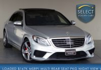 Mercedes Used Cars Elegant Used 2015 Mercedes Benz S Class S 63 AmgÂ