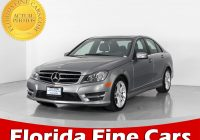 Mercedes Used Cars for Sale Near Me Lovely Used 2014 Mercedes Benz C Class C300 4matic Sedan for Sale In Miami