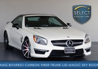 Mercedes Used Cars Fresh Used 2016 Mercedes Benz Sl Class Sl 63 AmgÂ