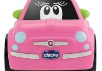 Pink toddler Car Elegant Chicco Fiat 500 Turbo touch Baby Child toddler Play toy Car