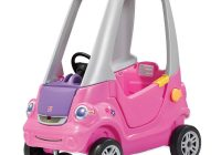 Pink toddler Car Lovely Step2 toddler Outdoor Push Ride On toy Car for Kids Easy Turn Coupe