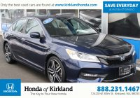 Pre Used Cars New Pre Owned 2016 Honda Accord Sedan Sport 4dr Car In Kirkland A