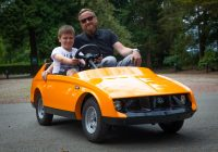 Real Cars for Kids Beautiful Electric Car Designed for Children Costs More Than A Real Car