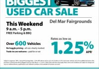 San Diego Used Cars Luxury Biggest Used Car Sale San Go County Credit Union El Cajon Ca