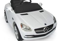 Toddler Electric Car Unique White Mercedes Benz Slk Rc Kids Electric Ride On Car Lights and