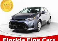 Toyota Cars for Sale Near Me Used Unique Used 2018 toyota Corolla Le Sedan for Sale In Hollywood Fl