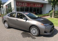 Toyota Certified Used Cars Unique Certified Pre Owned 2018 toyota Corolla Le 4d Sedan In torrington