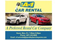 Used Car Rental Elegant A 1 Car Rental Spradley Barr toyota Dealer In Cheyenne Wy