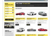 Used Car Rental Lovely Website Template Exlusive Car Rental Custom Website Template