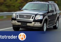 used car reviews best of 2006 2009 ford explorer suv used car review