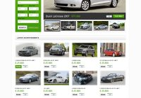 Used Car Websites Unique Website Template Car Market Cars Custom Website Template Car